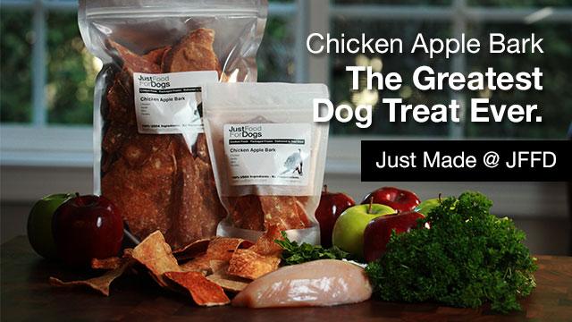 Chicken Apple Bark Dog Treat