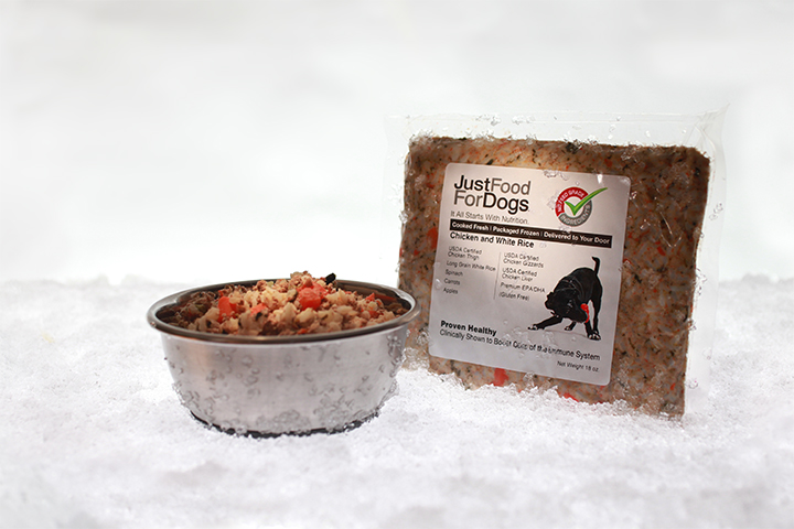 Packaged Frozen Just Food For Dogs