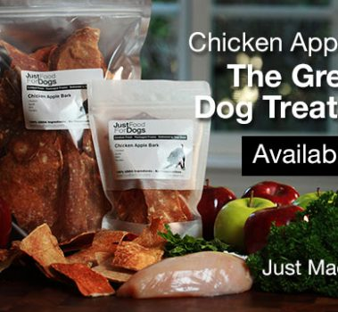 Introducing The Greatest Dog Treat Ever: Chicken Apple Bark!