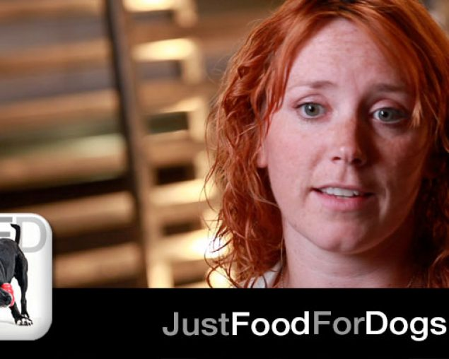 Dr. Laura Searle-Barnes Meets JustFoodForDogs
