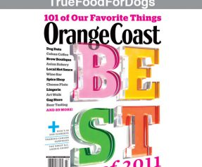 JustFoodForDogs makes Orange Coast Magazine's Best of Orange County 2011