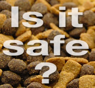 Is Commercial Pet Food Safe?